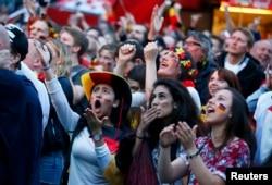 Реакция на итоги финального матча чемпионата мира в Берлине