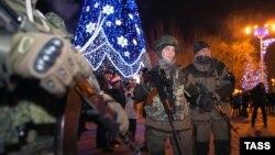Иллюстрационное фото. Празднование Нового Года в оккупированном Донецке, январь 2015 года
