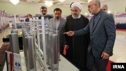 Președintele iranian la Teheran de Ziua Națională a Tehnologiei Nucleare