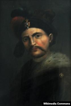 Şah Abbas. Naməlum italyan rəssamının çəkdiyi portret.