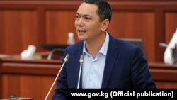 Бывший премьер-министр Кыргызстана Омурбек Бабанов, которого выдвигает кандидатом на пост президента партия «Республика — Ата-Журт».