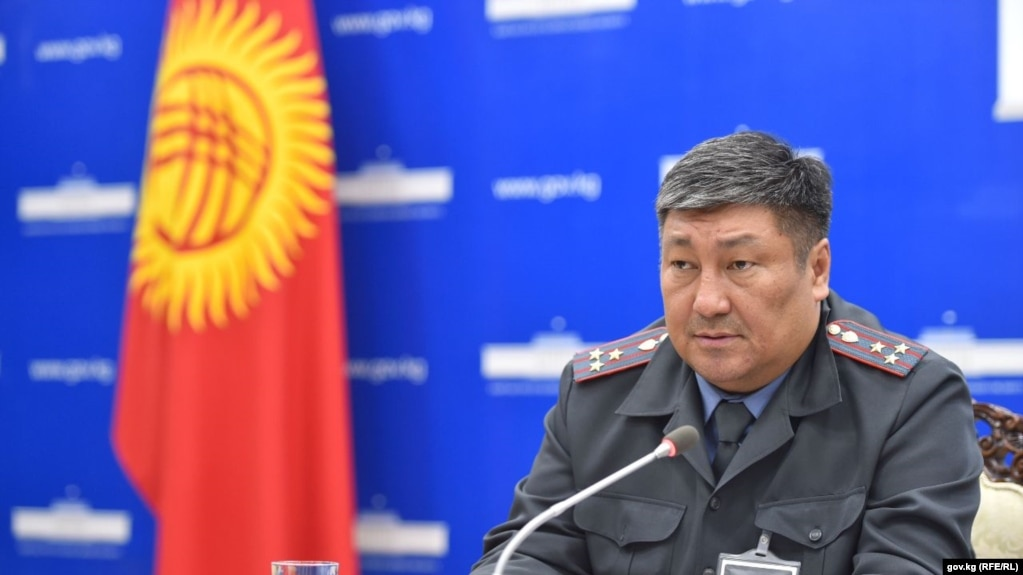 Алмосбек Орозалиев, раҳбари ситоди шаҳри Бишкек