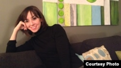 Французская писательница Лавиния Аббот. Фото из личного архива.