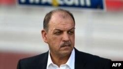 Trajneri i kombëtares jordaneze, Adnan Hamad.