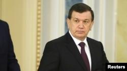 Uzbek President Shavkat Mirziyoyev (file photo)