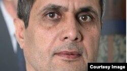 Czech Republic--Radio Mashaal Pakistan Service Director Mohammad Amin Mudaqiq. Prague.