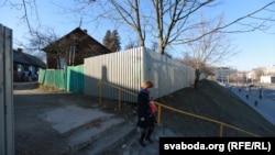 Паўночны завулак — у самым цэнтры, але мала хто сюды падымаецца з плошчы Багушэвіча