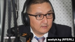 Dilger Japarov, head of the Kyrgyzaltyn company, says the money he transferred to Centerra Gold in December 2013 represented dividends Centerra had earned from its shares in Kumtor Gold Company.