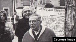Jean-Paul Sartre və Michel Foucault, 1968