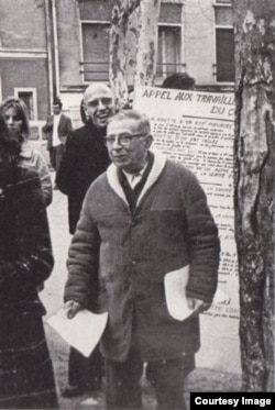 Jean-Paul Sartre 1968-ci ildə