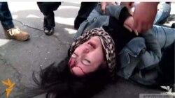 Ռուզաննա Եղնուկյանի գլխին հարվածող ոստիկանը պատասխանատվության չի ենթարկվի