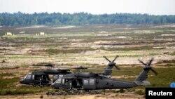 Exerciţii militare ale NATO lână Swietoszow, Polonia, 18 iunie 2015