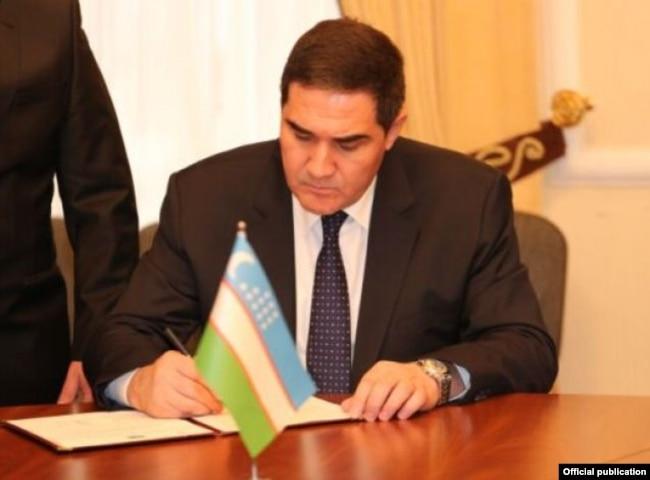 Ныне бывший первый заместитель председателя СНБ Узбекистана Шухрат Гулямов.