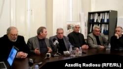Bakıda Ziyalılar Forumunun mətbuat konfransı - 2011