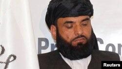 سهیل شاهین سخنگو و عضو هیئت مذاکره کننده طالبان