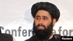 محمدنعیم سخنگوی دفترسیاسی طالبان در قطر