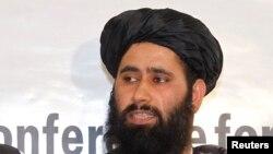 محمد نعیم وردک سخنگوی هیئت مذاکرات گروه طالبان در قطر