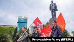Сторонники КПРФ провели митинг в Сочи, на котором озвучили политические требования