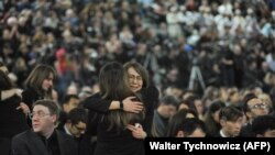 Церемонія вшанування пам'яті жертв катастрофи PS752 у Канаді, січень 2020 року