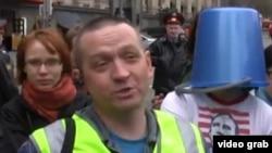 Russian motorists' rights activist and dash-cam enthusiast Aleksei Dozorov