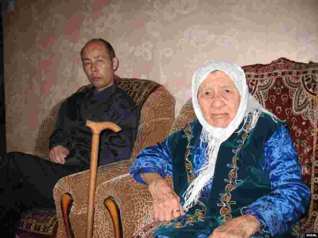 130 жасар Сахан Досова әлемдегі ең қарт адам #2