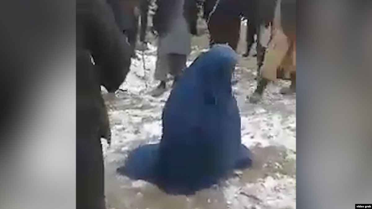Mob Beats Afghan Woman For Alleged Affair