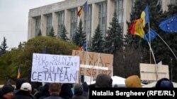Proteste antiguvernamentale la Chişinău, 29 noiembrie 2015