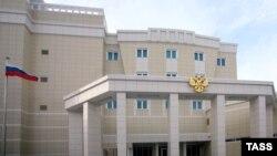 Будівля посольства Росії у Мінську