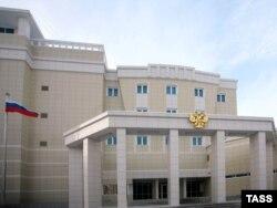 Будынак пасольства РФ у Менску