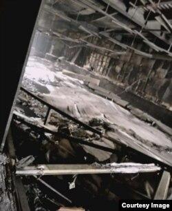 """Фото МЧС: так выглядят сейчас внутри помещения ТРЦ """"Зимняя вишня"""""""