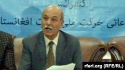 آصف بکتاش رئیس شورای عالی انسجام، حرکت ملی نجات افغانستان