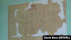 Карту Тугачинского ОЛП со всеми его подкомандировками случайно нашли на дне старого сундука