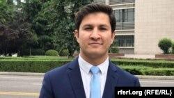 حکمتالله اعظمی معاون انستیتوت صلح و جنگ در افغانستان