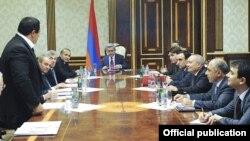 «Բարգավաճ Հայաստան»-ի առաջնորդ Գագիկ Ծառուկյանը համալրում է Ազգային անվտանգության խորհրդի կազմը, 22-ը ապրիլի, 2011թ.