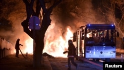 Сообщается, что теракт в Анкаре был направлен против военных.