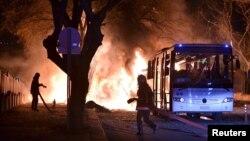 На місці вибуху, Анкара, 17 лютого 2016 року