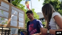 La alegerile din 2009, ambasada R.Moldova din București