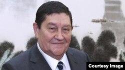 Рустам Иноятов в бытность руководителем Службы безопасности Узбекистана.