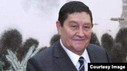 Рустам Иноятов в бытность главой СНБ Узбекистана.