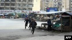عکس مربوط به درگیریهای قبلی در طرابلس است