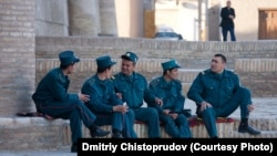 Ўзбек милицияси халқ хизматида