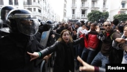 Tunis etiraz aksiyası