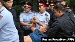 په قزاقستان کې مظاهرې: انځور له ارشیفه.