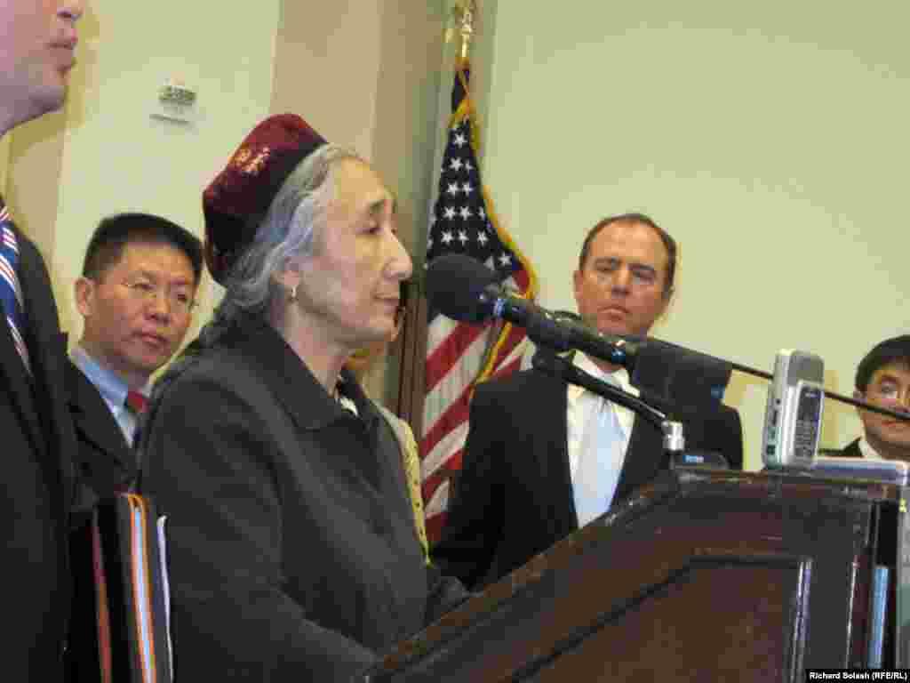 Рабия Кадыр - лидер Всемирного уйгурского конгресса.