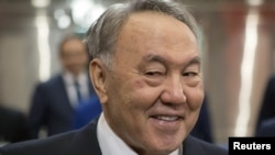 Incumbent Kazakh President Nursultan Nazarbaev won't be facing any rivals from western Kazakhstan in his bid for reelection.
