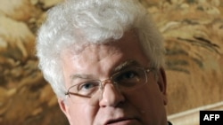 Russia's ambassador to the EU, Vladimir Chizhov, calls visa-free travel 'a two-way street'