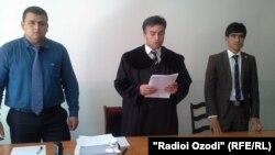 Cудья Абдухаким Холиков: «Мы приняли во внимание то, что осужденный не достиг совершеннолетия»