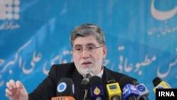 Ali Akbar Javanfekr at his press conference on November 21