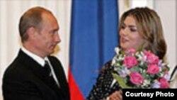 Владимир Путин белән Алинә Кабаева