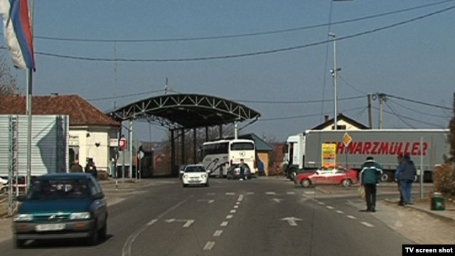 Granični prelaz između BiH i Hrvatske preko Save kod Slavonskog Broda.
